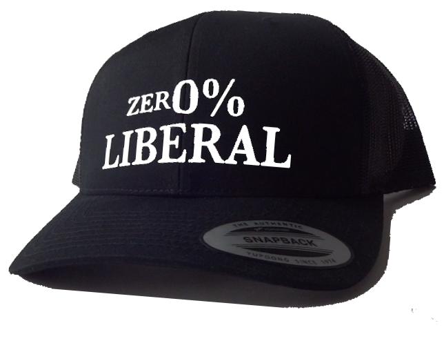 ZER0% LIBERAL - Black